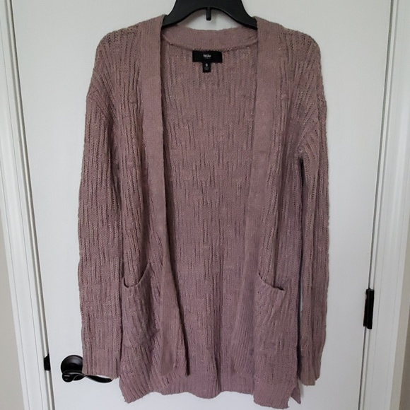 Mossimo Supply Co. Sweaters - Mauve Cardigan